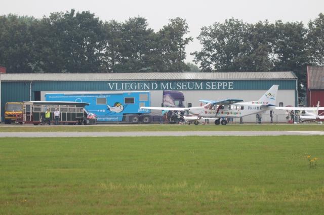 Hoogvliegersdag op Seppe Airport