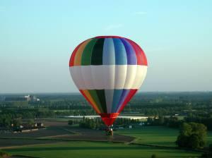 Ballon boven Brabant