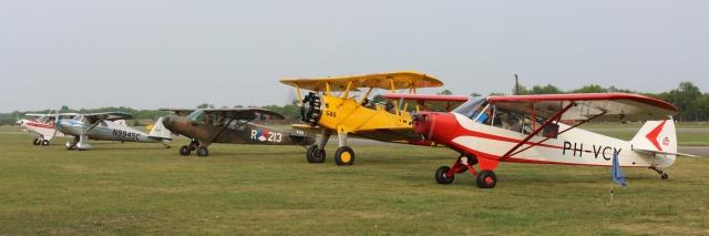 Museumvliegtuigen maken zich klaar voor de Memorial flight van 2014