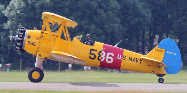 De N2S-3 uit het Vliegend Museum